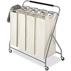 Whitmor Easy-Lift 4-Bag / Quad Laundry Sorter