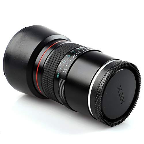 Lightdow 85mm F/1.8 Medium Telephoto Portrait Prime Manual Focus Full Frame E Mount Lens for Sony A9 A7R A7S A7 A6500 A6300 A6000 A5100 A5000 NEX-7 NEX-6 NEX-5 etc