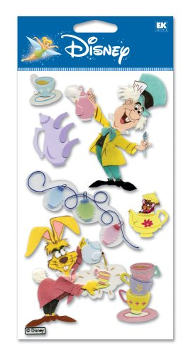 Disney Mad Tea Party Dimensional Sticker