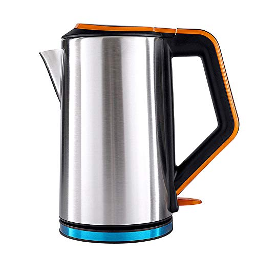 JYTNB Stainless Steel Electric Kettle, Food Grade Material, Boil Dry Protection & Automatic Shutoff, Keep Warm Function, Quiet Fast Boil, Cordless, Tea Kettle with BPA-Free, 2.5L ()