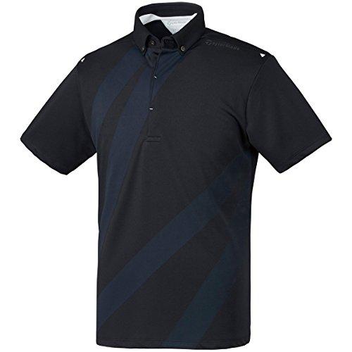 テーラーメイド Taylor Made 半袖シャツ?ポロシャツ ストレッチ クーリング グラフィック半袖ポロシャツ