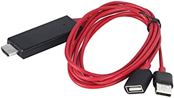 Candybarbar Adaptador HDTV 1080P Cable HDMI Macho a USB 2.0 Hombre ...