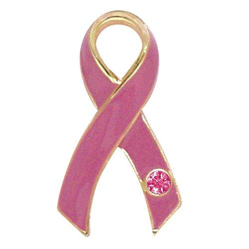Breast Cancer Awareness Pink Ribbon Tac Pin
