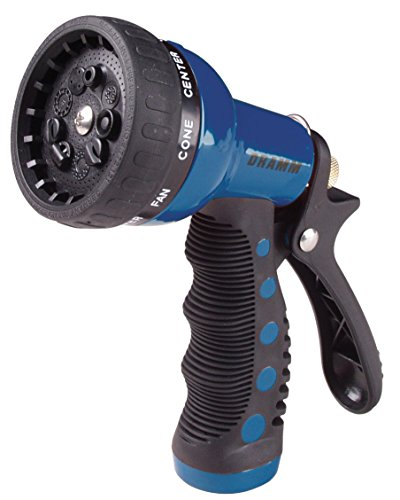 Sprayer Dramm (Dramm 80-12705 9 Pattern Blue Revolver Spray Gun Nozzle)