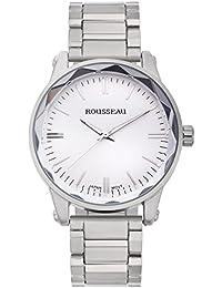 amazon com rousseau clothing shoes jewelry rousseau men s nägeli quartz ip metal watch model 62626999