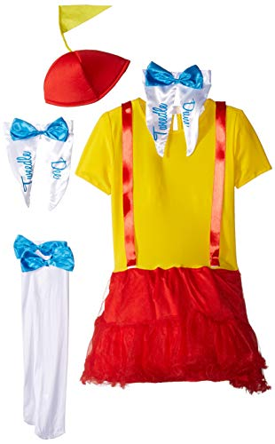 Fun World Tweedle Dee & Dum Costume for Girls - Medium 8-10