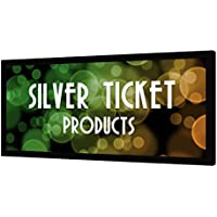 STR-235115 Silver Ticket 2.35:1 4K Ultra HD Ready Cinema Format (6 Piece Fixed Frame) Projector Screen (2.35:1, 115, White Material)