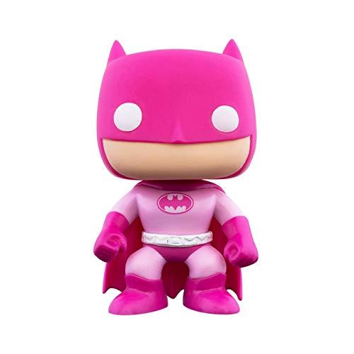 Funko- Pop Heroes Breast Cancer Awareness-Batman DC Comics Figura Coleccionable, Multicolor (49990)