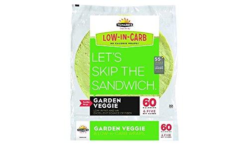 Low Fat Feta (Tumaro's Low Carb Garden Veggie Tortillas, pack of 1)
