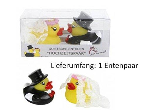 Enten Hochzeit Quietsche Entchen Hochzeitsgeschenk Geschenk Badeente Enten KBV 1236616