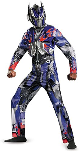 Optimus Prime Deluxe Costume - X-Large - Chest Size 42-46 ()