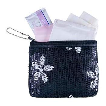 d524f6ec8868 Amazon.com: uxcell® Cotton Blends Polka Dots Sanitary Pad Holder ...
