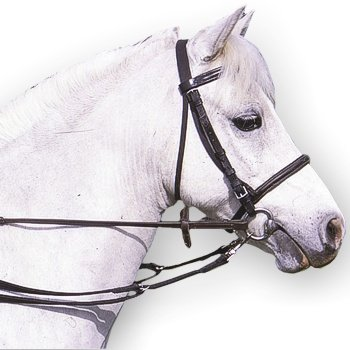 Padded Anti-Grazing Grass Reins With Trigger Clips In ()
