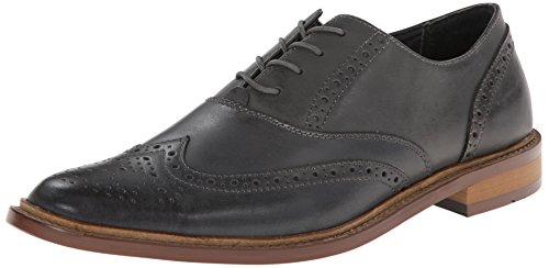 Penguin Men's Brogue WT Oxford Shoe - Charcoal - 8.5 D(M) US