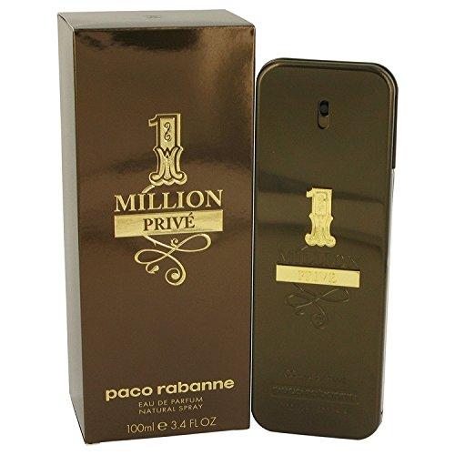 Pāco Rabannē 1 Millìon Prìve Còlogne For Men 3.4 oz Eau De Parfum Spray (Rabanne Hombres Paco Perfumes)