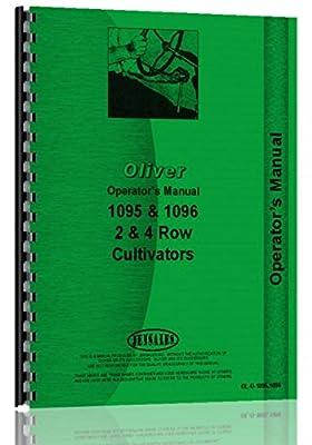 Oliver 1096 Cultivator Operators Manual