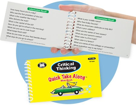 Critical Thinking Quick Take Along Mini-Book PDF