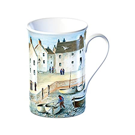 "Creative Tops ""Cornish Harbour"" Fine Bone China Mug, 350 ml (12.3 fl oz) 41IDc4opCbL"