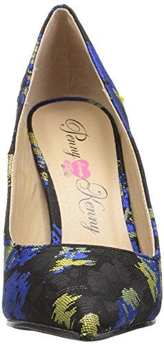 Penny Loves Kenny Women's Opus AB Pump, Blue Abstract, 11 Medium US by Penny Loves Kenny (Image #4)