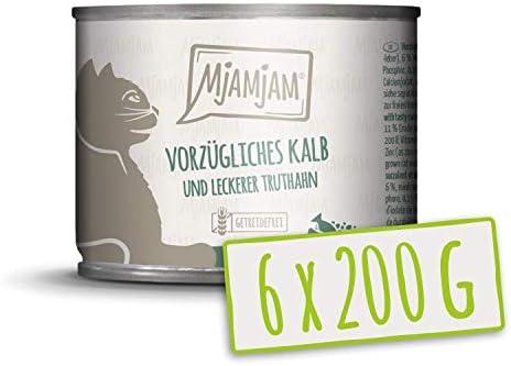 MjAMjAM vorzügliches Kalb & Truthahn an leckeren Möhrchen, 6er Pack