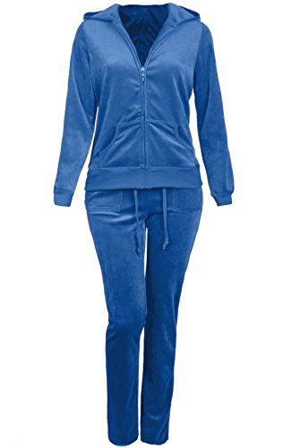 Velour Hooded Tracksuit - 5
