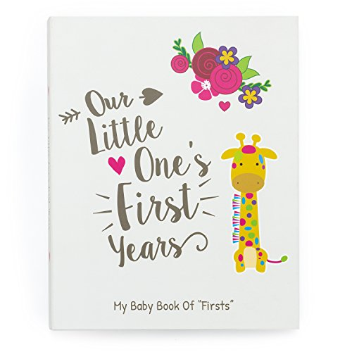 Ronica Baby Memory Book - 60 Page Photo Album and Keepsake Scrapbook