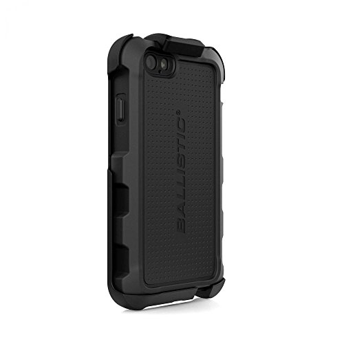 newest collection c1516 4fd95 Ballistic Hard Core Tactical Cover Case with Holster for Apple iPhone 6/6S  - Black