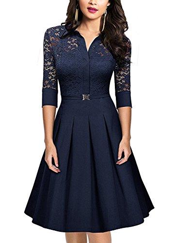 Womens Sleeve Dresses Hepburn Rockabilly Features