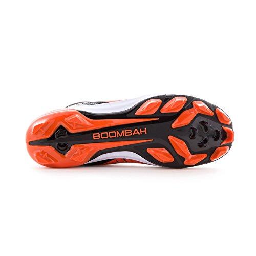 Boombah Men's Catalyst Molded Mid Cleats - 8 Color Options - Multiple Sizes Black/Orange lowest price for sale real sale online deals cheap online TeZ53y