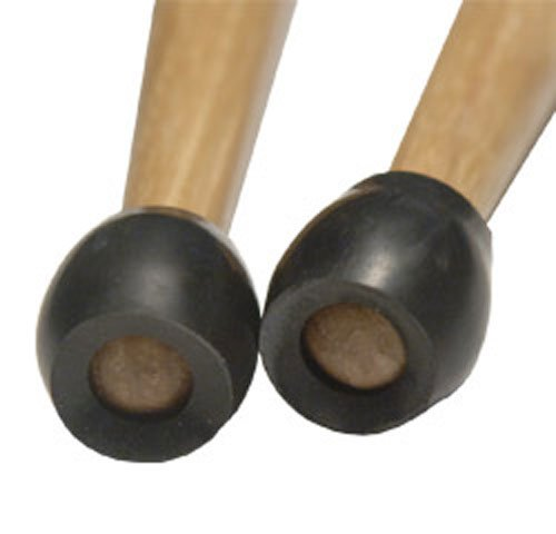 Innovative Percussion RPT1 Marching Drumstick Practice Tips, 3 Pair (Rubber Drumsticks)