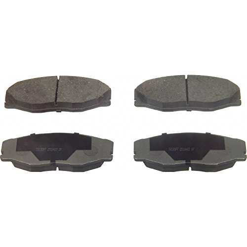 Wagner ThermoQuiet QC604 Ceramic Disc Pad Set, Front