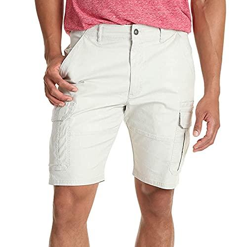 Semoatuc Zomer heren vintage cargoshorts korte broek bermuda shorts heren shorts sportbroek voor vrije tijd sport joggen
