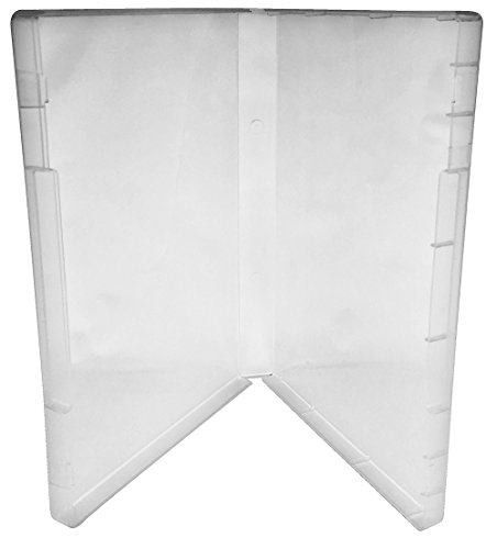 (25) CheckOutStore Plastic Storage Cases for Rubber Stamps (Clear / Spine: 21 mm / No Tabs) by CheckOutStore