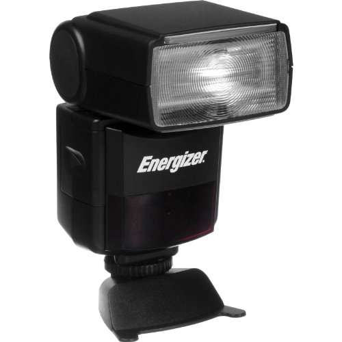 Energizer ENF-600C Power Zoom e-TTL II Flash for Canon DSLRs (Black)