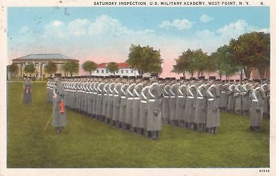 F7628 NY, West Point Military Academy Postcard