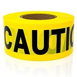 Premium Yellow Caution Tape - STRONGEST ...