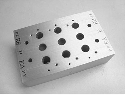 Smc Nvv5fs2-30-031-03T Pneumatic Manifold 3 Station Nvv5fs2-30-031-03T