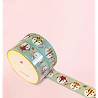 Cute Fox Washi Tape for Planning • Scrapbooking • Arts Crafts • Office • Party Supplies • Gift Wrapping • Colorful Decorative • Masking Tapes • DIY