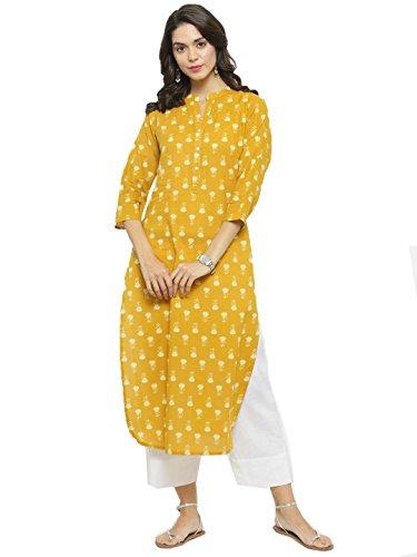 Designer Kurta Kurti Indian Ethnic Party Wear Women Dress Top Tunic Blouse (S)