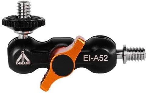Ikan E-Image 2.875 Shoe Mount//Mini Articulating Arm