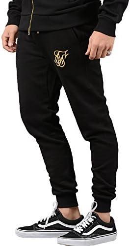 Sik Silk Pantalón De Chándal - Hombre 12310 Estándar Pantalón De ...