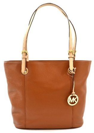 Amazon.com   Sale! Spring Tan Michael Kors Genuine Leather Tote  Shoulder  Bag   Cosmetic Tote Bags   Beauty 8083c142ccfb6