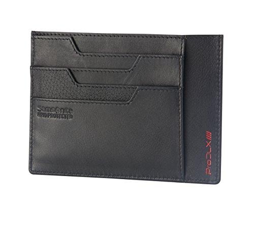 (Samsonite Prod-DLX 4S RFID Billfold Holder Coin Pouch, 14 cm, Black 75439/1041)