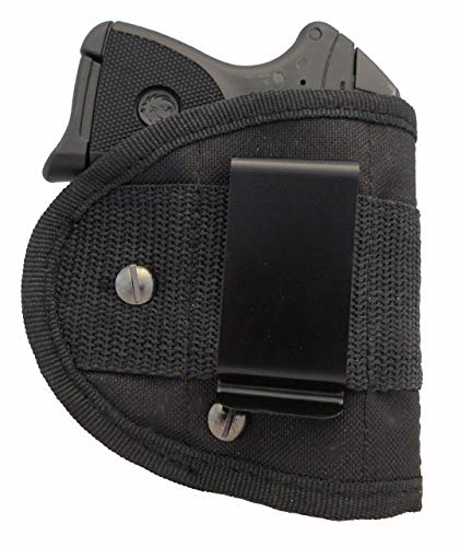 Garrison Grip Inside Waistband Woven Sling Holster IWB Fits Ruger LCP 380 with Lasermax (ML2)
