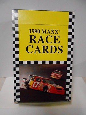 - Maxx Nascar racing cards full vintage box from 1990