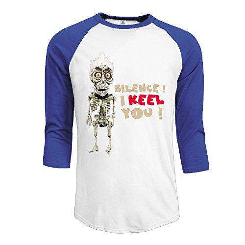 ^GinaR^ Men Middle Sleeve Jeff Dunham Comfortable T Shirt Tops XL