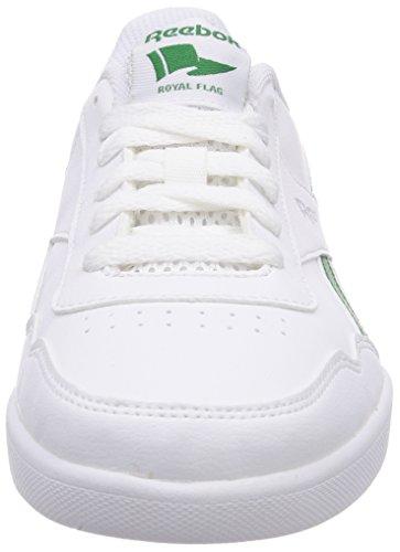 Reebok Royal Effect - Zapatillas infantil White/Glen Green/Silver Met