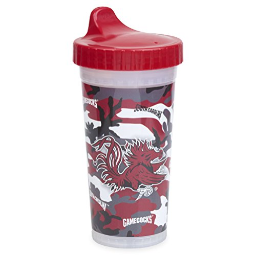 Insulated Sippy Cup | Official NCAA University of South Carolina Licensed Product, Made in the USA – Camo Design, 10oz
