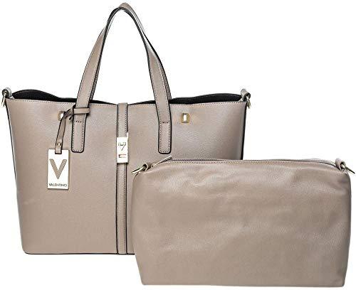 Valentino Women By for VBS1E001 Bag Rialto Mario Taupe Tote v7v0qf6