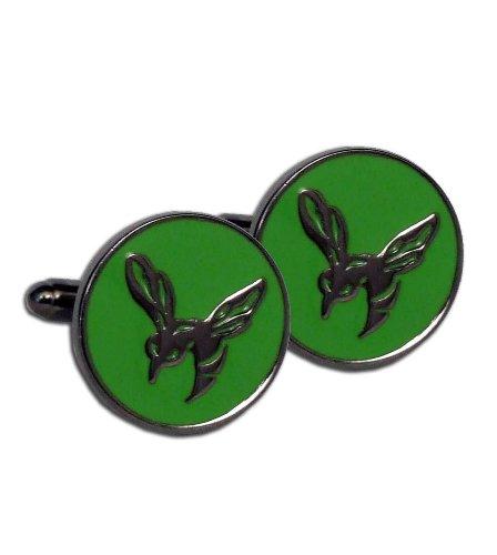 The Green Hornet Movie Collector Dark Chrome Cufflink (Chrome Cuff)